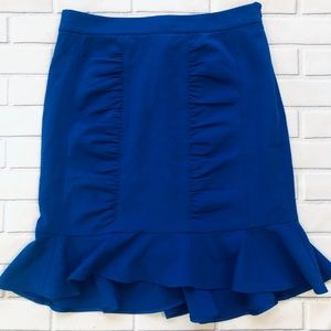 Anthropologie Skirts - Anthropology HD In Paris Blue Skirt. Size 8